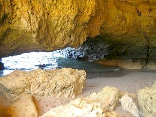 Algarve Albufeira Strand Praia do Coelha