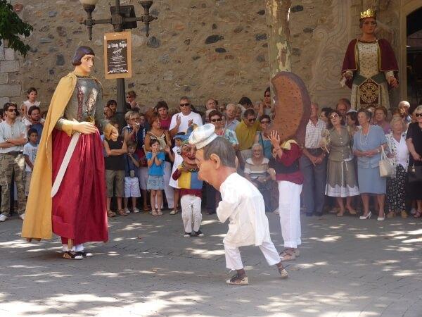 tanz volksfest katalonien