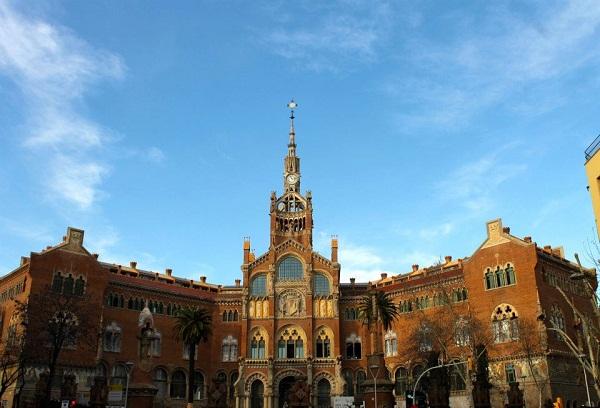 Barcelona Modernismo Hospital Sant Pau
