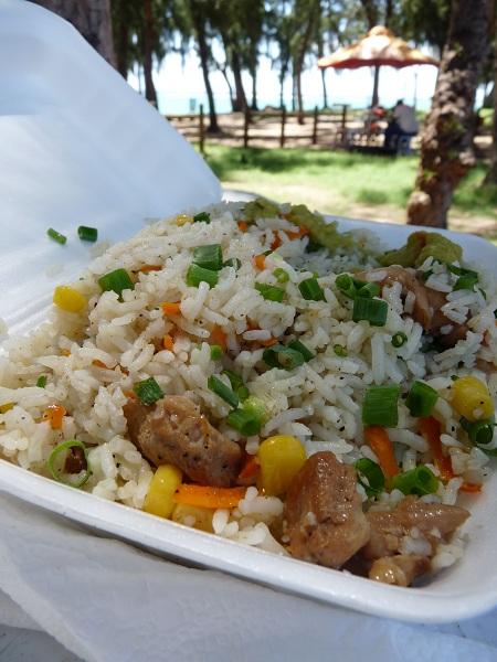mauritius riz frit flic-en-flac