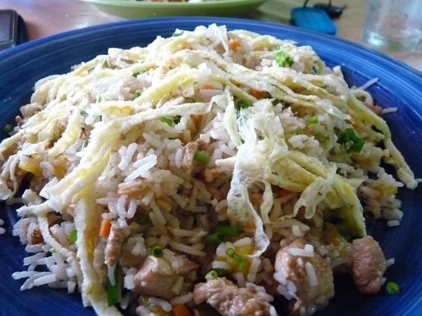 riz frit mauritius