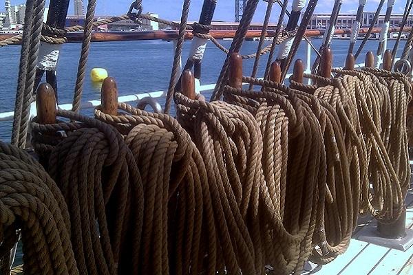 lschulschiff Krusenstern Barcelona
