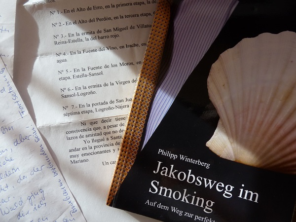 jakobsweg im Smoking