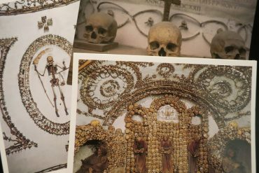 Rom Knochenkapelle Postkarten