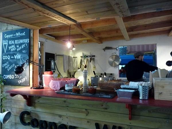 Kopenhagen Street Food Papierinsel