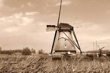 Kinderdijk Holland