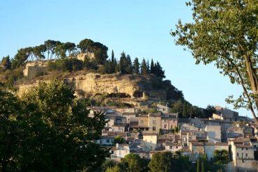 Cadenet im Herbst Provence