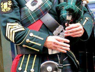 Dudelsack Schottland