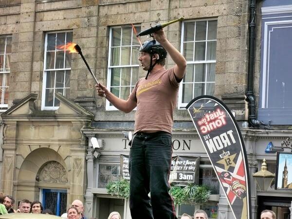 Edinburgh Fringe Festival komiker