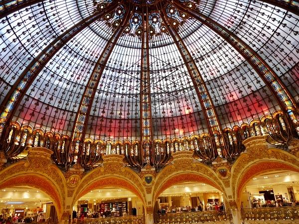 Luxusshopping Galerie Lafayette Paris