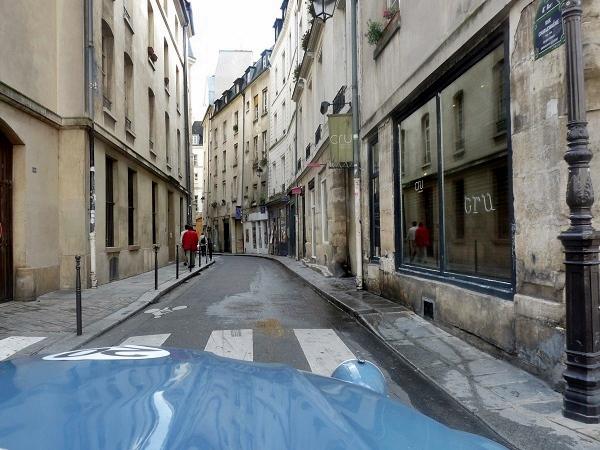 Mit der Ente durch Paris