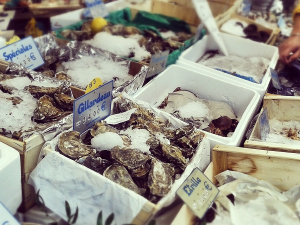 Paris Montmartre Fischhändler