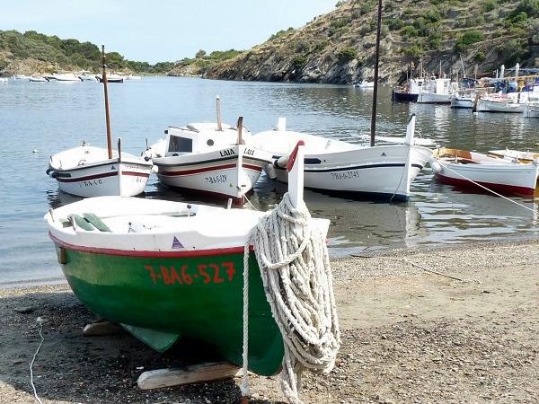 Portlligat Fischerboot