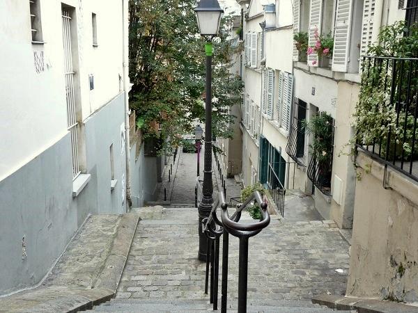 Treppen Montmartre Paris