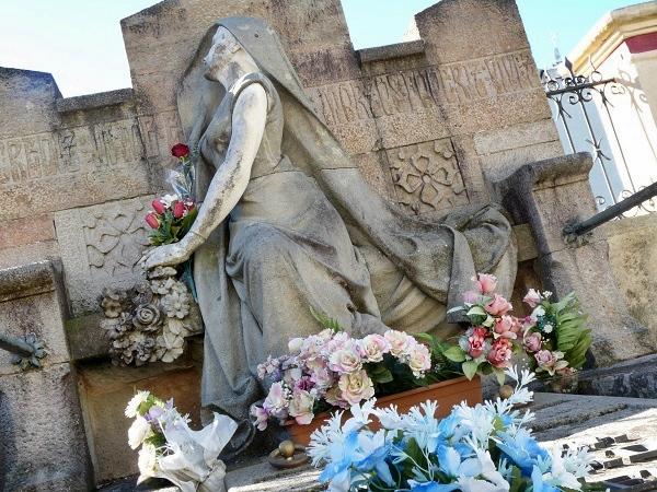 Sehenswertes Costa Brava - Lloret Cementeri Grabstein