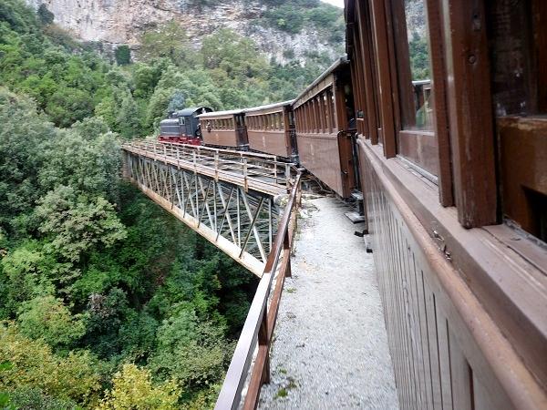 Zugfahrt Pilion Volos