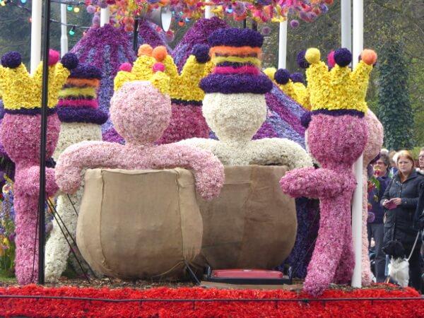 Blumenkorso Holland Bollenstreek Praalwagen