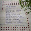 Gedichte an der Wand Muurgedichten Garcia lorca