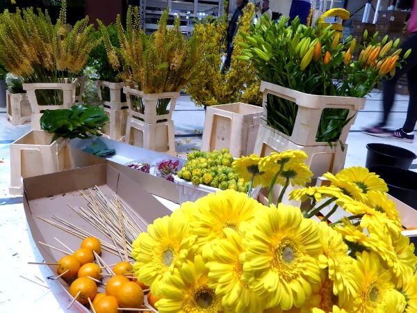 blumencorso Holland gelbe blüten