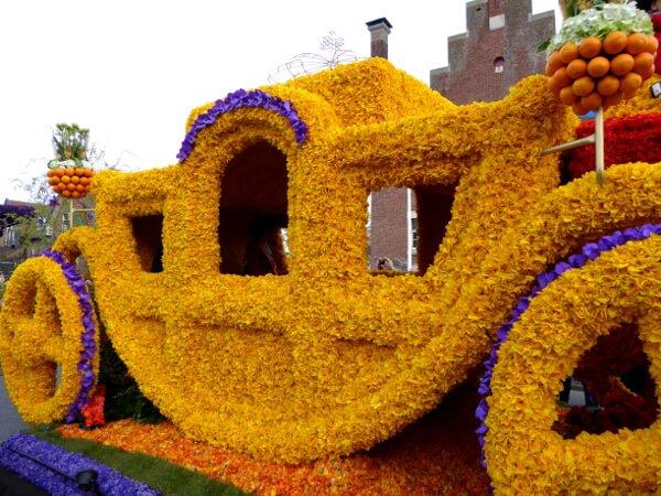 praalwagen Kutsche Blumenkorso Holland noordwijkerhout
