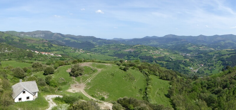 Berge Bizkaia Baskenland