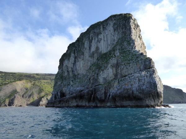 Klippe Felsen Insel bizkaia