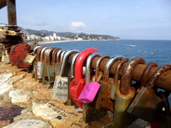 blick auf Lloret de Mar Costa brava