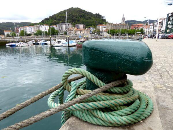 hafen Lekeitio bizkaia Baskenland