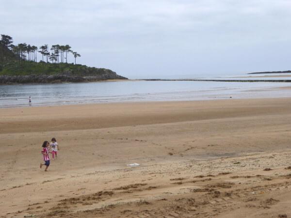strand Lekeitio Bizkaia