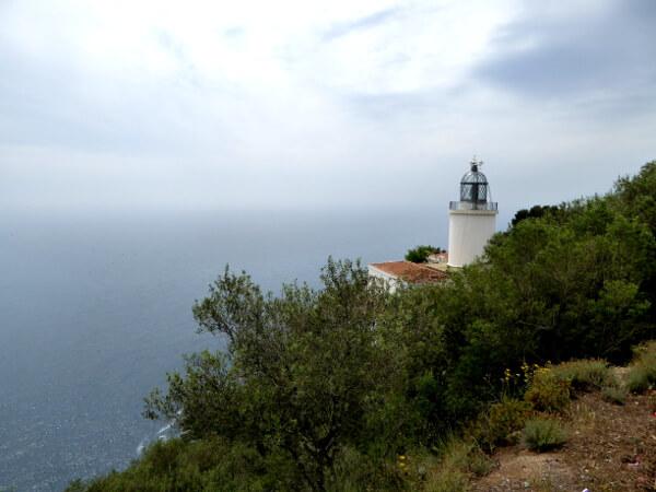 Leuchturm Palafrugell Faro San sebastia