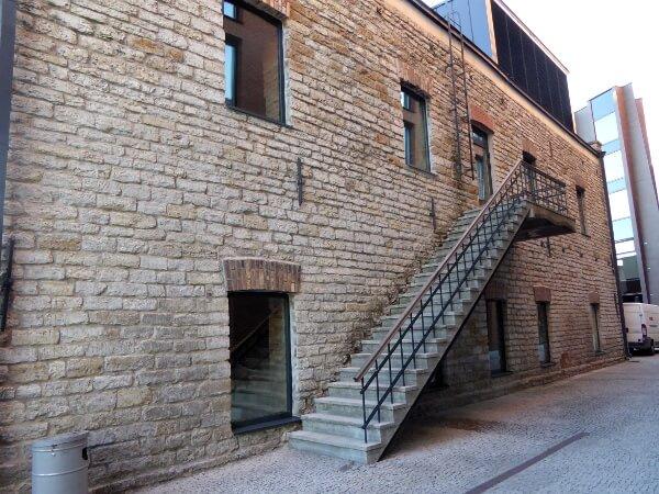 Tallinn Tipps Rotermann Viertel Treppe
