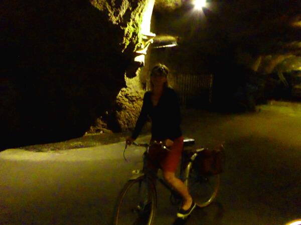Radtour unterirdisch Bouvet Ladubay