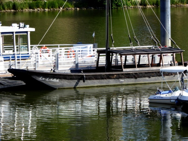 boot Loire Angers Anjou toue