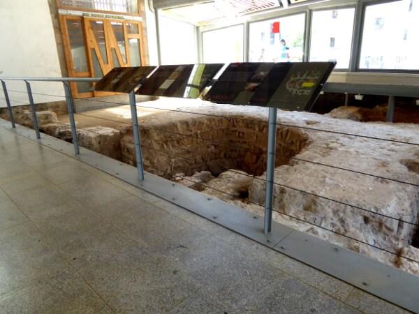 Ausgrabungen Mercat Santa Caterina