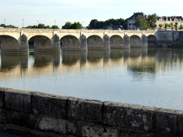 Saumur Brücke
