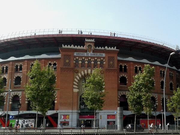 Barcelona Las Arenas Stierkampf