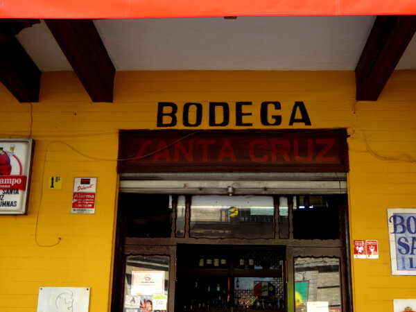 Bodega Santa Cruz Tapas Sevilla