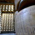Parmigiano Reggiano. Käselager