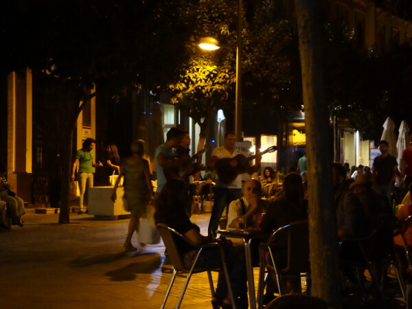Triana abends bar de tapas sevilla