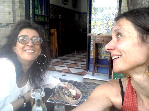 carmen und ich Tapas Tour in Sevilla