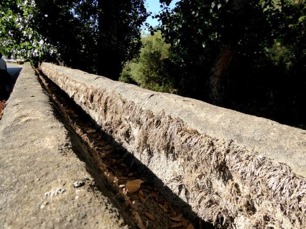 alte Wasserleitung Querença