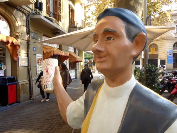 El tio che Barcelona Poblenou