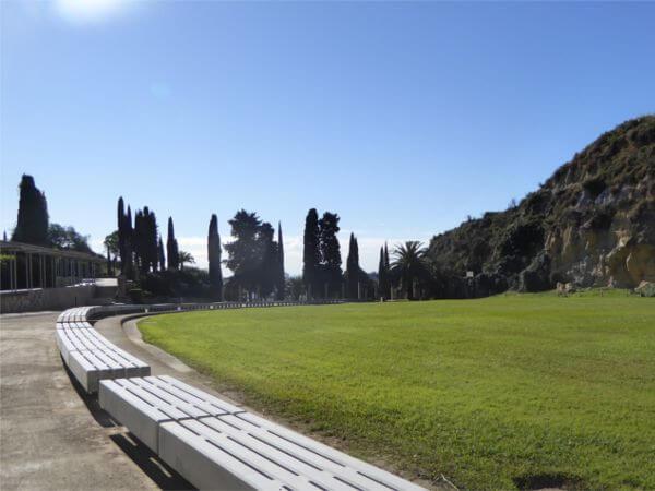 Fossa Friedhof Montjuïc Barcelona Massengrab