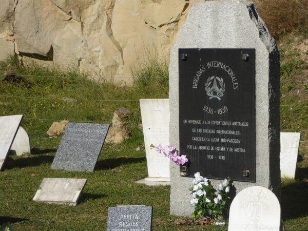 Friedhof Montjuïc Barcelona Massengrab brigadisten