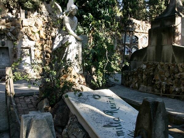 Friedhof Montjuïc Familie Rusiñol