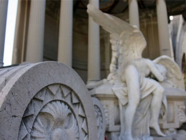 Indianos reiche grabstätten Friedhof Montjuïc