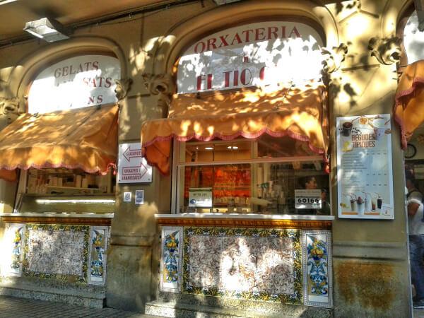 Tio Che Orxateria poblenou Barcelona