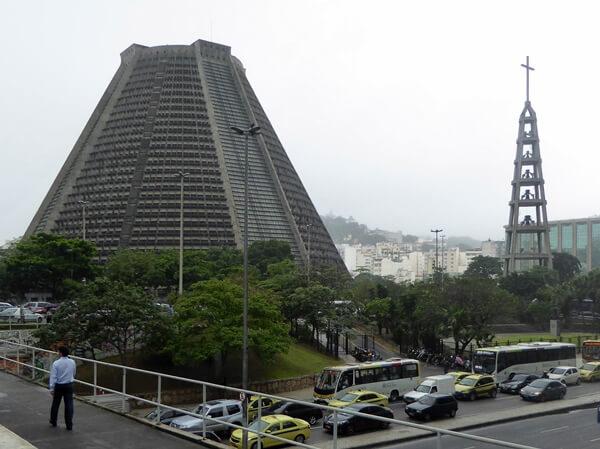 Kirche catedral Rio de Janeiro