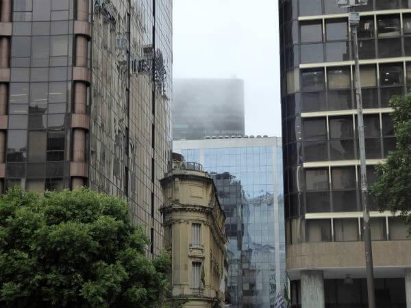 Rio de Janeiro Centro Altstadt Regen