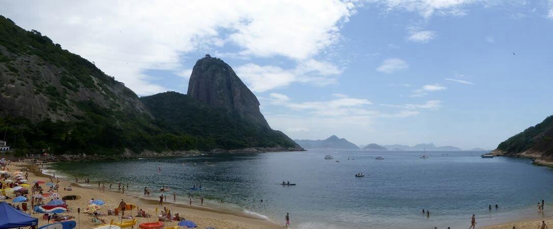 Rio de Janeiro Panorama Zuckerhut Strand